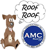 roof roof dog with amc logo