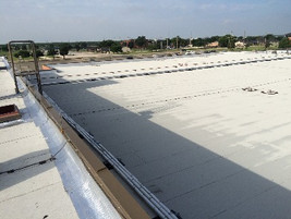 new commercial government roof