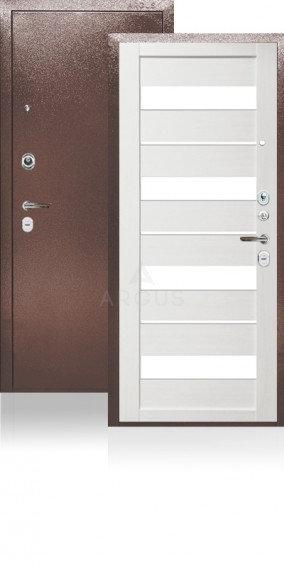 Дверь входная | сейф-дверь ARGUS ДА-27 МИЛАНА ЛИВСТВЕННИЦА БЕЛАЯ БЕЛЫЙ ЛАКОБЕЛЬ