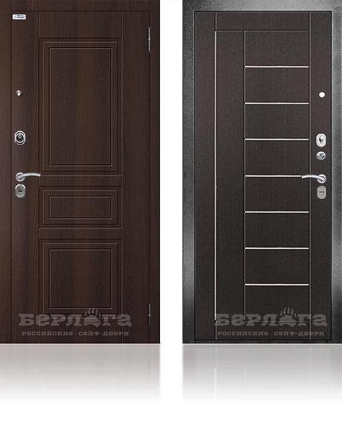 Сейф-дверь 3К Фриза Венге структурный / МДФ Гаральд Коньяк