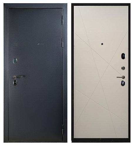 Дверь Sidoorov 80 3k серебро Паутинка/Капучино софт