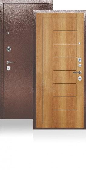 Дверь входная | сейф-дверь ARGUS ДА-23 ФРИЗА ОРЕХ МИЛАНСКИЙ