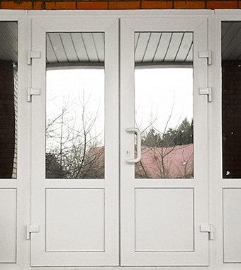 """Входные пластиковые двери (производитель """"Фаворит"""")"""