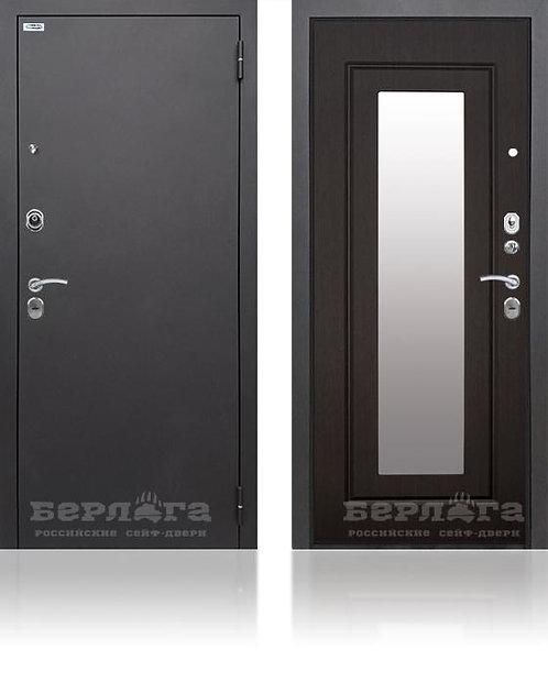 Сейф-дверь Тринити (ЧМ) с зеркалом