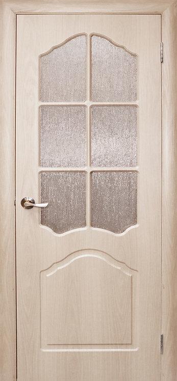 Дверь Дубрава Сибирь Созвездие Илона, остекленная