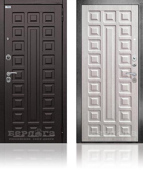 Сейф-дверь 3К Сенатор Ларче / МДФ Сенатор Венге структурный