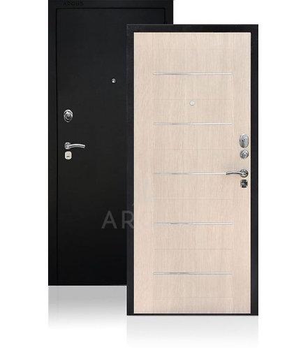 Дверь входная | сейф-дверь ARGUS ДА-1 Капучино Муар