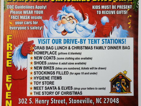 Generation 4 Hope Hometown Christmas Drive thru