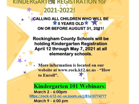 Kindergarten Registration Presentation