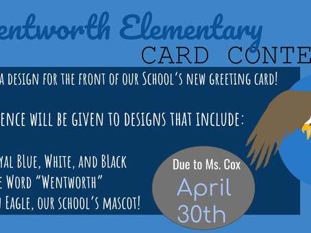 Wentworth Elementary Card Contest!