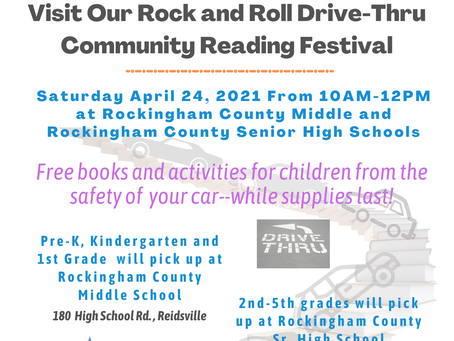 Rock and Roll Drive Through Reading Celebration!
