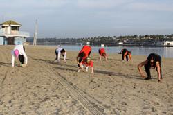 Strength By The Beach