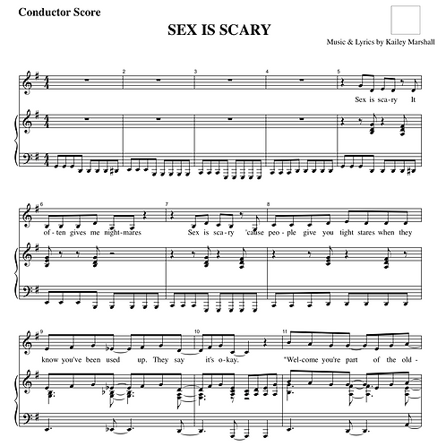 Sex is Scary
