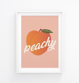 Peachy Illustration