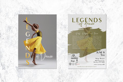 Legends of Dance Postcard