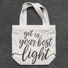 In The Lights PR Tote Bag and Tshirt