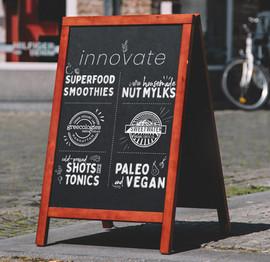 Innovate Sandwich Board
