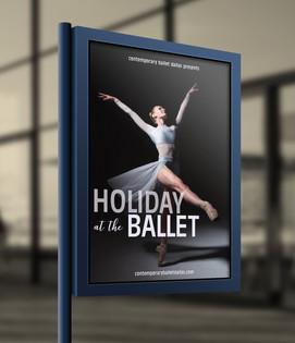 Contemporary Ballet Dallas Poster