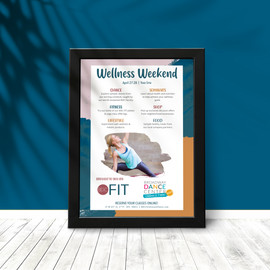 Wellness Weekend Poster