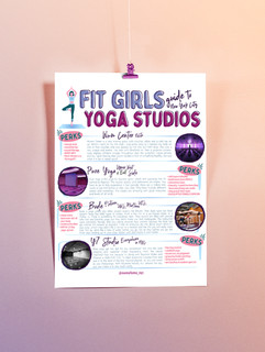 Fit Girls guide to NYC Yoga Studios