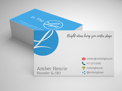 In The Lights Business Cards