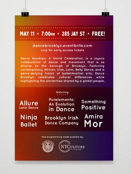 Dance Brooklyn Postcard back
