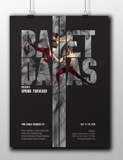 Ballet Dallas Poster and Playbill Cover