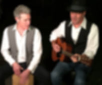 Les Bloch and Greg Kennedy GB Gents Artists and Songwriters Danville Music