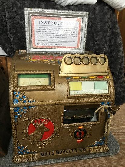 Mills Elk Slot machine 1905