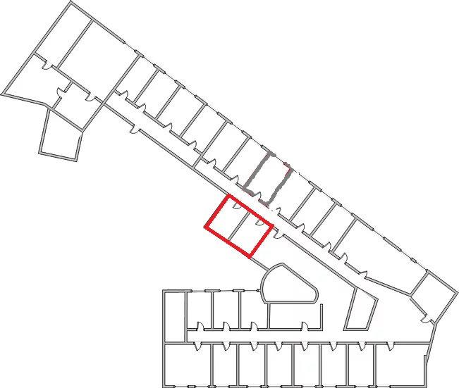 Офисное помещение на 2 этаже офисы 214-215