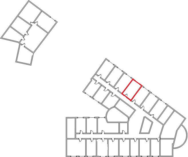Офисное помещение на 3 этаже офис306