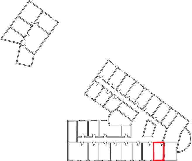 Офисное помещение на 4 этаже офис 407г