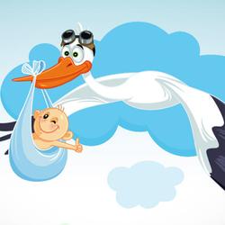 Porque é que os bebés vêm da cegonha?
