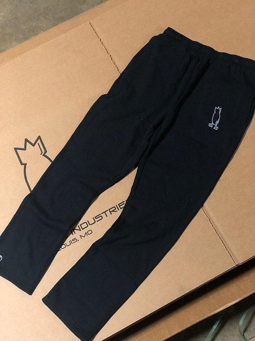 Fleece Camp Pants with pockets, Black
