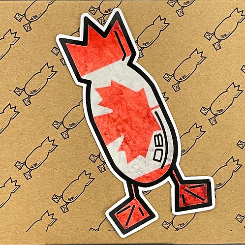 Decal, O Canada!, 5 inches