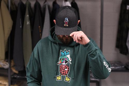 THE LUMBERJACK hoodie, Alpine Green