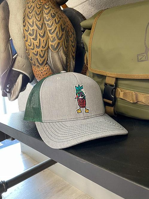 THE LUMBERJACK Hat, Heather Grey / Dark Green
