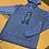 Thumbnail: Performance Hooded T-Shirt, Blue