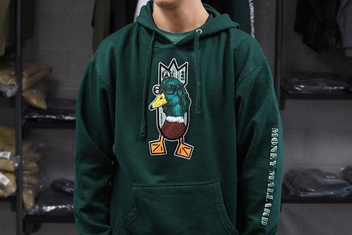 MONEY MALLARD hoodie, Forest Green