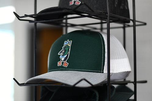 HOLLYWOOD hat, Dark Green / White / Heather Grey
