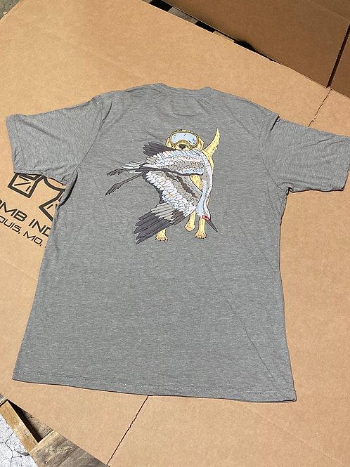 CRANE CRUSHER Shirt, Ash