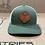 Thumbnail: DB Dark Leather Shield Hat, Moss Green / Beige