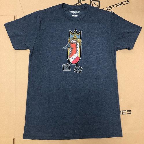 THE KING Shirt, Midnight Navy