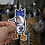 Thumbnail: Decal, Blue Rocket, 5 inches