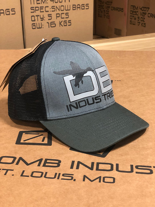 DBI Duck front hat, Light charcoal bill