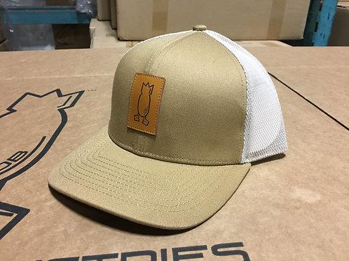 Tan snapback hat