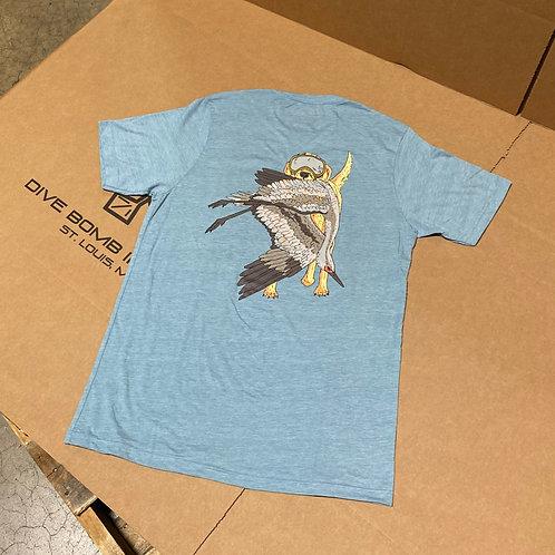 CRANE CRUSHER Shirt, Stonewash Denim