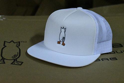 Hat, White Snapback