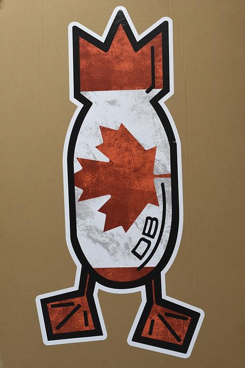 Trailer Decal, O Canada!, 4 foot