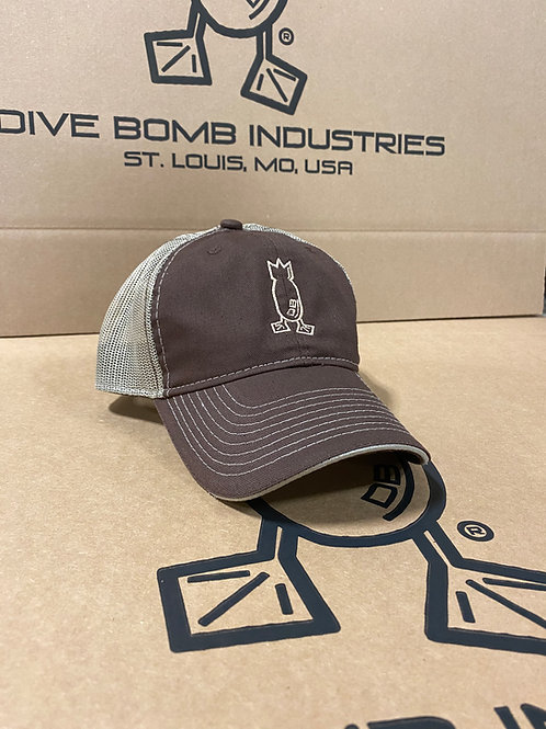 Brown & Tan Hat, Unstructured Snapback